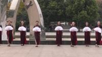 郑州南区女人花舞蹈队广场舞 女人花 表演 团队版