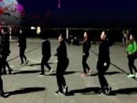大辛家广场舞《八步》编舞正点 团队正背面演示
