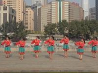 北京西城雯茹舞蹈队广场舞  归途恨晚 表演 团队版