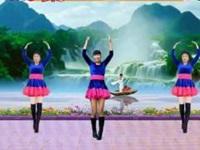 四川蓉蓉廣場舞《愛情就像一首歌》編舞蓉蓉 異地姐妹合屏