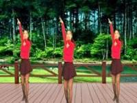 情有独钟广场舞《哦想》原创舞蹈 附正背面口令分解动作教学演示