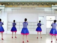 刘荣广场舞《我是剩女》原创舞蹈 正背面口令分解动作教学演示
