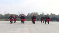 河南平顶山爱心习舞舞蹈队 溜溜的姑娘像朵花 表演 团队版