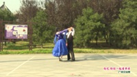 河南省信阳市体育舞蹈协会 刘阳 黄明策   伦巴 陪你一起看草原 表演 双人版