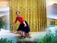 三里舞姿广场舞《唐古拉》原创舞蹈 正背面演示