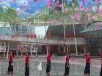 柳州彩虹健身队演绎《走出空城走不出想念》编舞春英 正背面演示