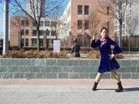 藍月廣場舞《因為愛著你》原創舞蹈 正背面口令分解動作教學演示