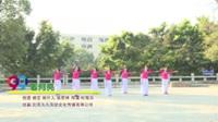 广东广州白云区青春快乐舞蹈队 看月亮 表演 团队版
