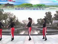 動動廣場舞《一晃就老了》原創DJ入門步子舞 正背面口令分解動作教學演示