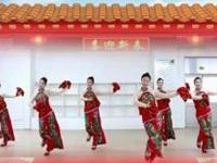 刘荣广场舞《财神驾到》原创舞蹈 附正背面口令分解教学演示