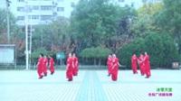 汝州市塔寺游園健身隊廣場舞   冰雪天堂 表演 團隊版