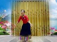 三里舞姿广场舞《唐古拉》原创舞蹈 正背面教学演示
