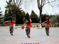云裳廣場舞《豐收中國》編舞梅子 原創手絹舞 附口令分解動作教學演示