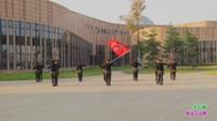新乡市飞扬水兵舞队广场舞 话说梁山伯与祝英 表演 团队版