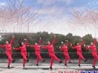 茉莉广场舞《中华太极拳》原创入门舞蹈 附正背面口令分解教学演示
