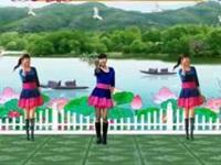 四川蓉蓉廣場舞《愛情就像一首歌》原創舞蹈 異地姐妹合屏