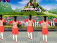 何野乐广场舞《新年一起旺》原创32步 附正背表演口令分解动作分教学