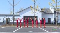 湖南汉寿坡头镇同心圆舞蹈队 张灯结彩 表演 团队版