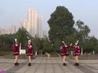 撫州左岸風情廣場舞《兔子舞》原創對跳版 附正背面口令分解教學演示