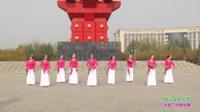 获嘉县舞动中原舞队广场舞 好一朵女人花 表演 团队版