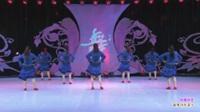 江西奉新蓉蓉梦之美舞蹈队广场舞 自由自在(背身) 表演 团队版