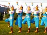 太湖彬彬广场舞《多情的萨日朗》原创蒙古舞 附正背面口令分解教学演示