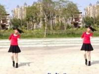 珍儿广场舞《一生为你感动》原创舞蹈 正背面演示
