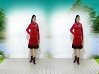 莲香姐妹广场舞《风雨醉情缘》原创优美32步 附口令分解动作教学演示