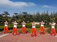 舞動旋律2007廣場舞《不如跳舞-收腹操》原創正背面口令分解動作教學演示