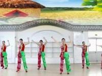 刘荣广场舞《丰收中国》原创舞蹈 正背面演示及口令分解动作教学