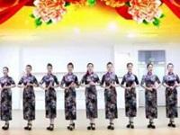 刘荣广场舞《欢歌唱起来》原创舞蹈 附正背面口令分解教学演示