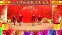 红泥湾华丽广场舞《拜新年》正背面演示