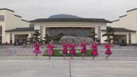 湖北黄梅小池蓝天舞蹈队广场舞 我的新娘在草原 表演 团队版