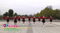 河南省南陽市蝶舞舞蹈隊廣場舞  紅塵情緣 表演 團隊版