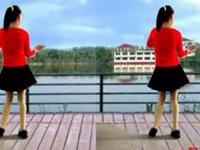 阿真廣場舞《借點情借點愛》原創舞蹈 正背面演示