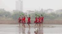 华容护城新沟军鼓舞蹈队广场舞 跳到北京 表演 团队版