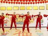 慧慧广场舞《拜新年》原创舞蹈 正背面口令分解动作教学演示