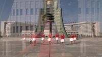 湖北大冶民主社区微笑舞蹈队舞蹈 闯码头 表演 团队版