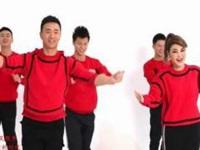 王廣成廣場舞《紅紅火火中國年》原創舞蹈 附正背面口令分解教學演示