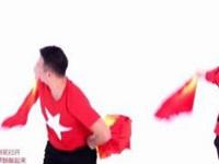 王廣成廣場舞《歡樂中國年》原創舞蹈 附正背面口令分解教學演示