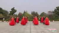 河南省南陽市南召縣麗舞飛揚舞蹈隊廣場舞  中三 冰雪天堂 表演 團隊版