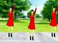 珍儿广场舞《狗年大吉》原创舞蹈 附口令分解动作教学演示