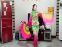 桃都廣場舞《豐收年》原創舞蹈 異地姐妹合屏