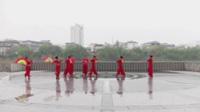 华容治河社区健身队广场舞 红梅赞 表演 团队版