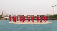 商丘民權縣西湖春天舞蹈隊廣場舞 冰雪天堂 表演 團隊版