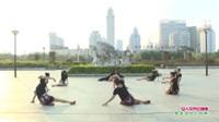 广西贵港市吉祥文艺队广场舞   女人花开红艳艳 表演 团队版