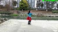 謝春燕廣場舞:(愛老婆會發財)原創附正背面教學口令分解動作演示