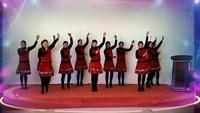 草儿健身队《三门小海鲜》编舞:青儿,制作:水玲珑正背面演示及慢速口令教学