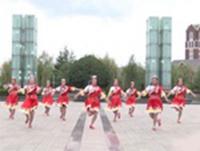 淮北山茶花团队广场舞 唱家乡 表演 原创附教学口令分解动作演示