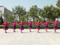 陕西咸阳香香广场舞 游牧故乡 正背表演与动作分解 编舞 香香